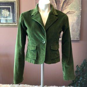 BB Dakota Green Corduroy Blazer